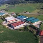 """Vista aerea de """"Los Tanagos"""""""