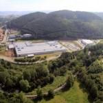 Vista aerea del Poligono Industrial del Bosque